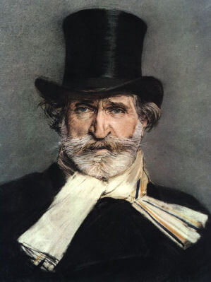 Portrait of G.Verdi