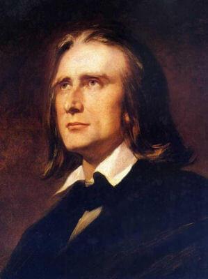 Retrato de F.Liszt
